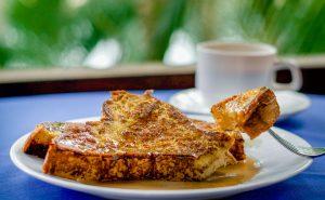 French Toast at Anthony's Key Resort