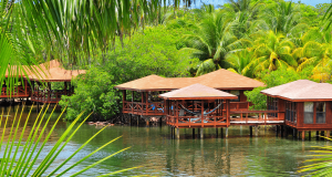 Overwater bungalows